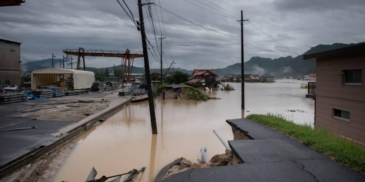 EN IMÁGENES. Aumenta a 88 el balance oficial de muertos por las lluvias en Japón