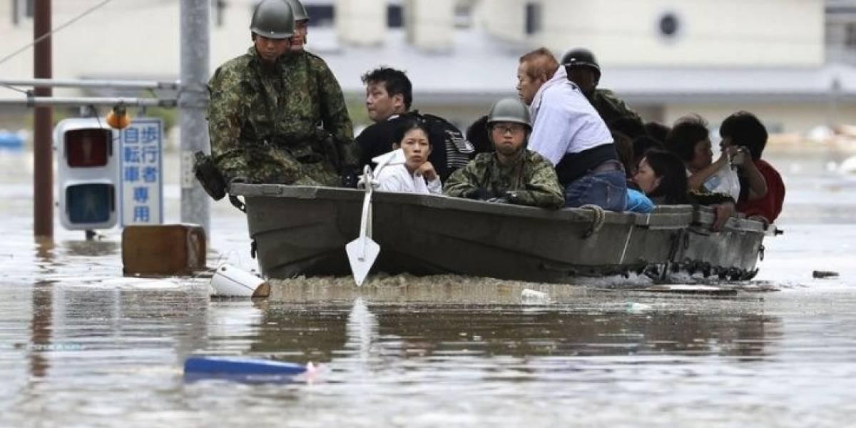 Van 85 muertos por inundaciones en Japón