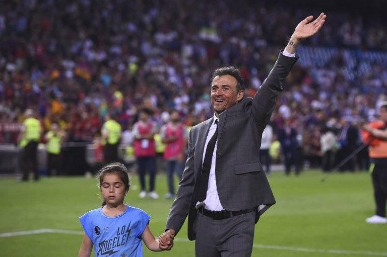 Luis Enrique tuvo un destacado paso por el Barcelona