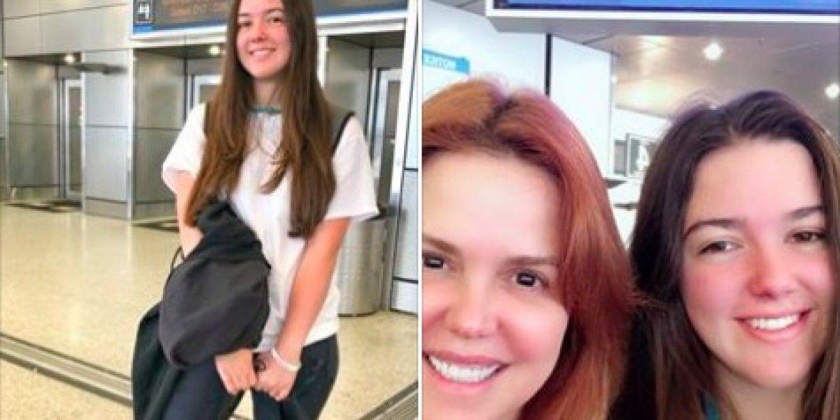 Hija de María Celeste Arrarás vino al país por proyecto humanitario
