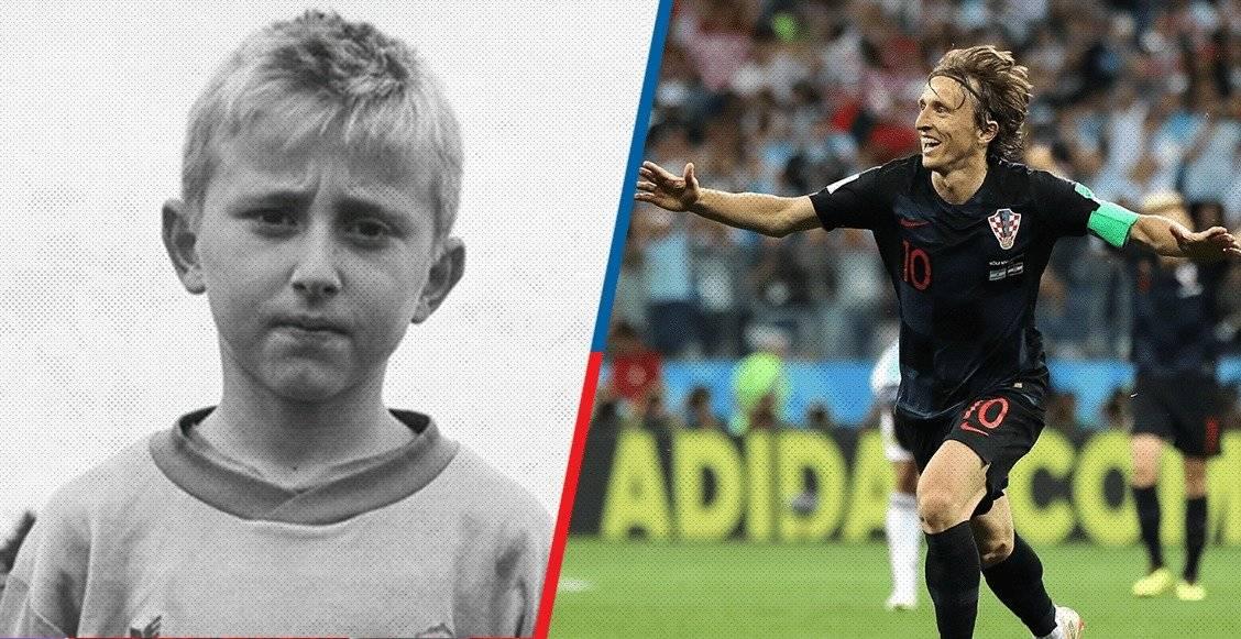 Modric es el capitán de la seleccióin de Croacia