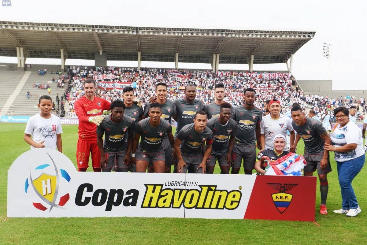 """Orejuela: """"Durante estos seis meses vimos una hinchada de Liga de Quito no mayor a la que esperamos"""" API"""