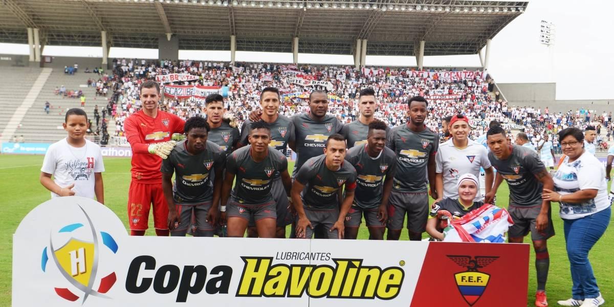 """Orejuela: """"Durante estos seis meses vimos una hinchada de Liga de Quito no mayor a la que esperamos"""""""