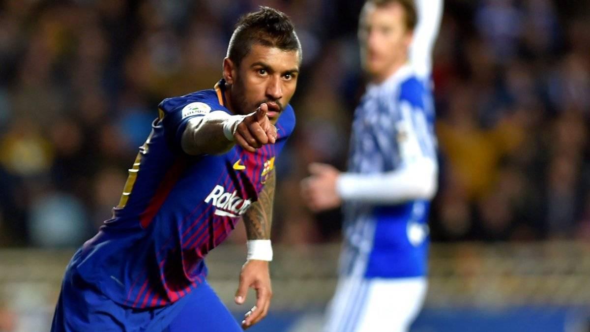 Paulinho marcó nueve goles con el Barça