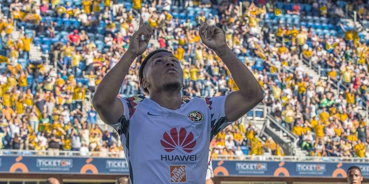 Roger Martínez se estrena como goleador en triunfo del América