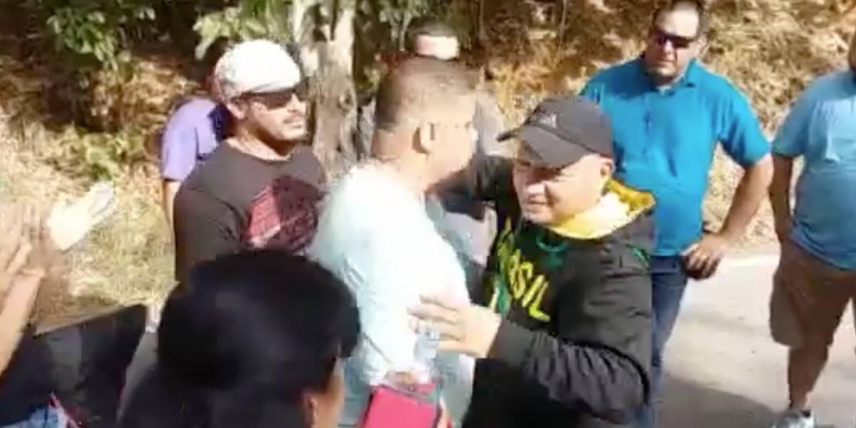 Rezan a la Virgen del Pozo por el suspendido alcalde de Sabana Grande
