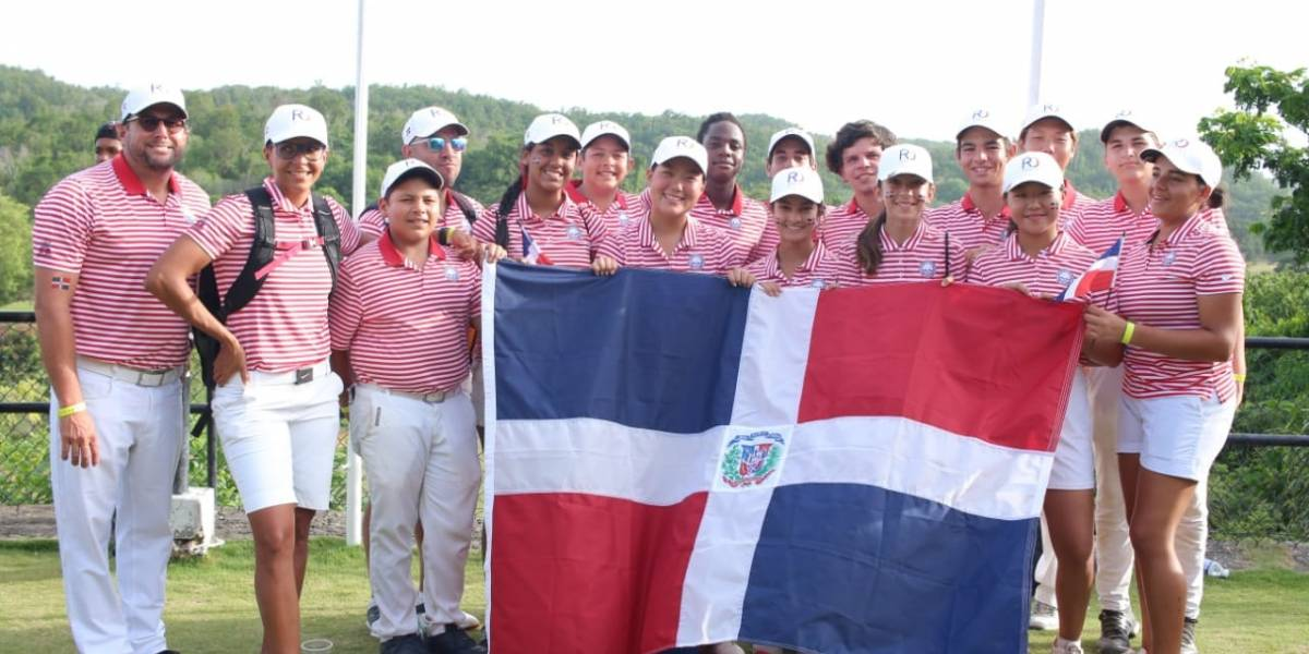 Selección de RD queda tercero en los Campeonatos Juveniles del Caribe