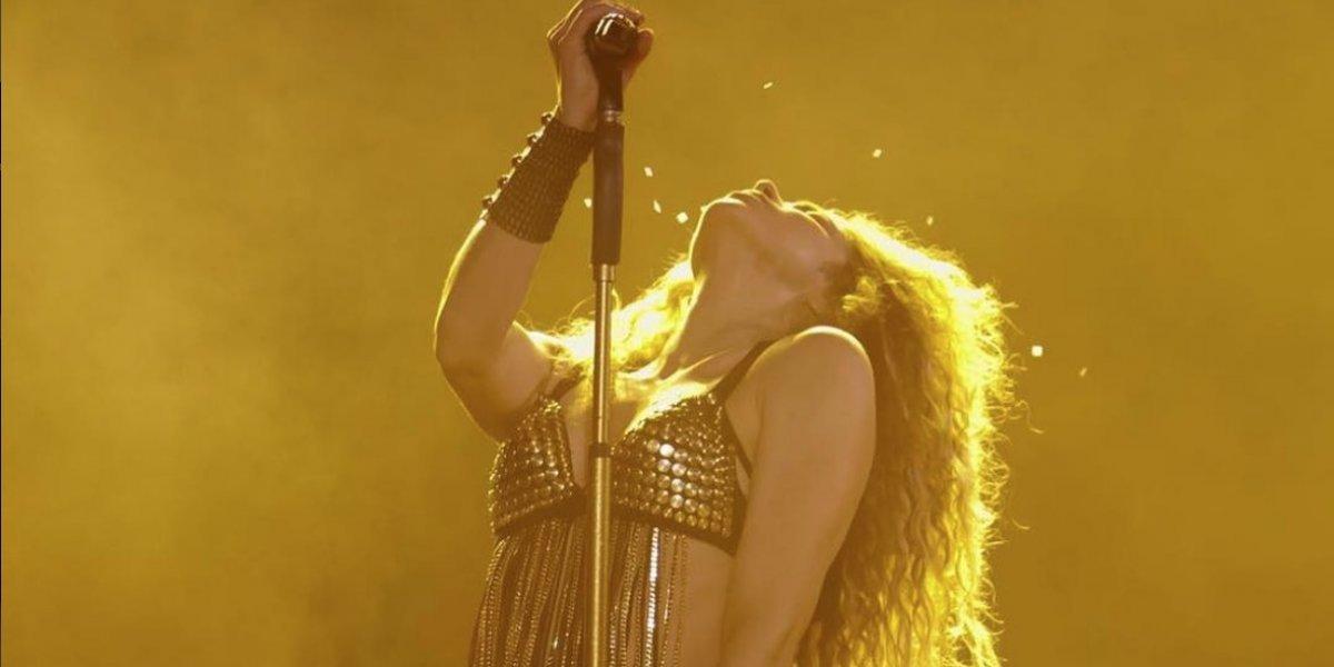 VIDEO. Shakira se guarda un detalle especial para su suegro en pleno concierto