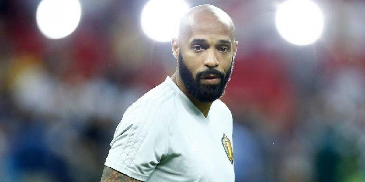 """Thierry Henry, """"el histórico goleador francés que busca la gloria con los Diablos Rojos"""""""