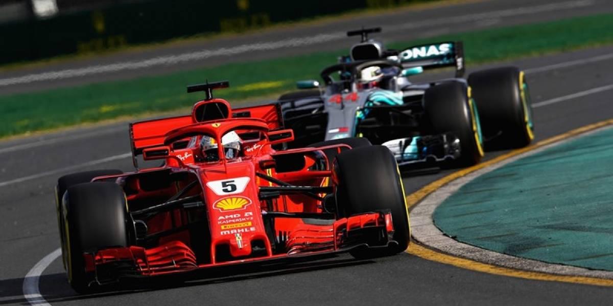 Vettel ganó en territorio de Hamilton y amplía su liderato en F-1