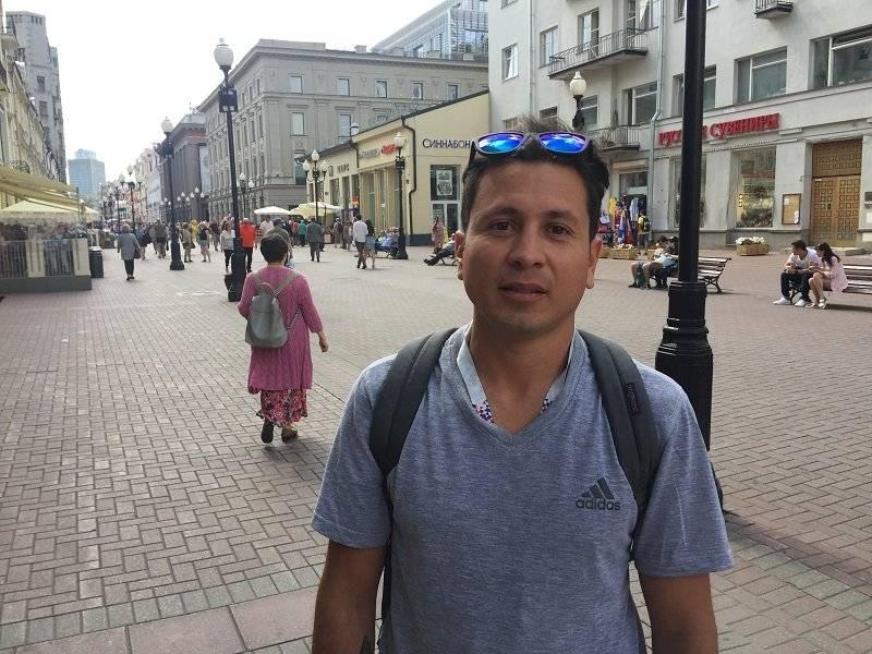 Felipe Melchor, dueño de un bar, de 37 años, de México