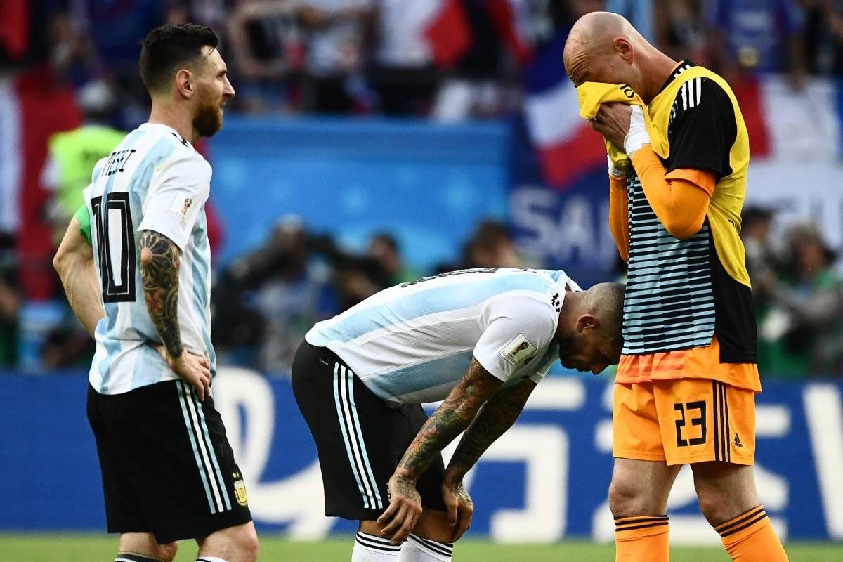 Argentina fracasó en el Mundial