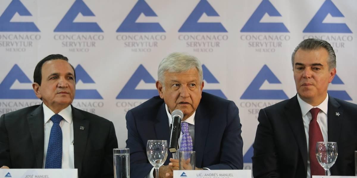 Concanaco se suma a proyecto de AMLO para impulsar a jóvenes
