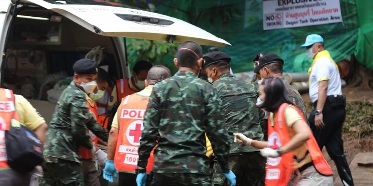 Recomeça resgate de meninos em caverna na Tailândia; o que sabe até agora