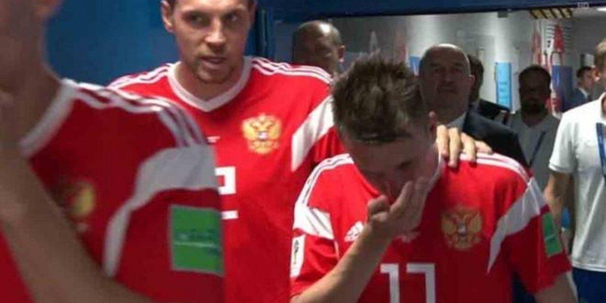 ¿Legítimo? Rusia recurrió al amoníaco para estimular a sus jugadores en el Mundial