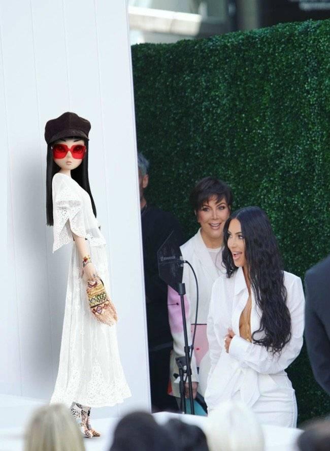 Noonoouiri y Kim Kardashian