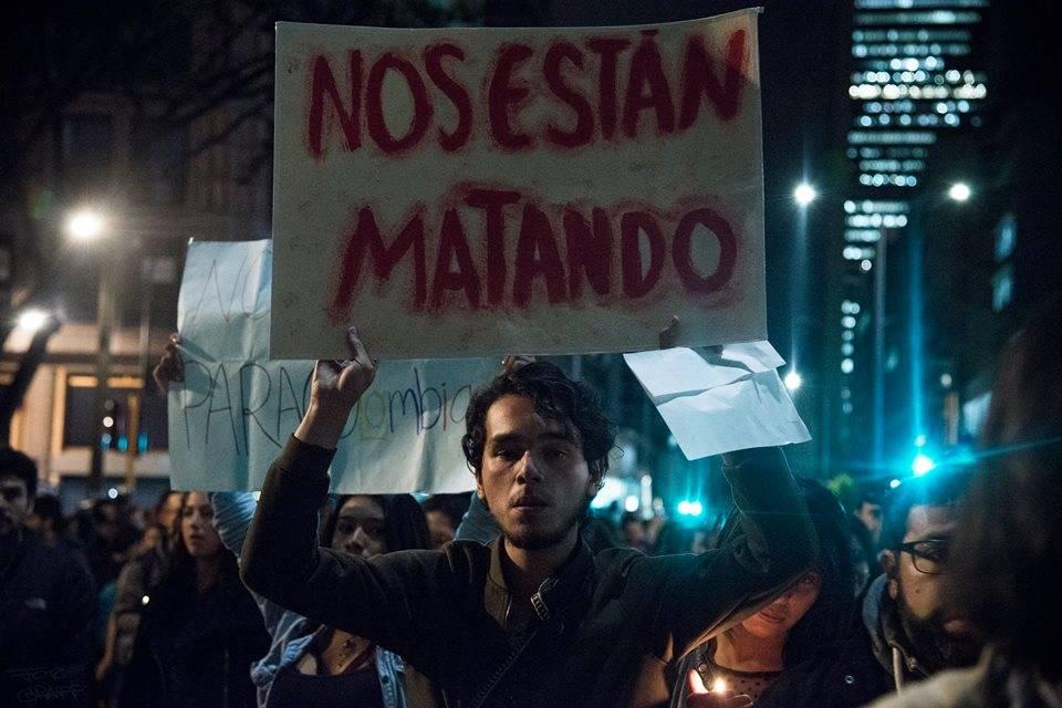 #NosEstanMatando, la voz de indignación que se ha popularizado en las redes sociales en Colombia