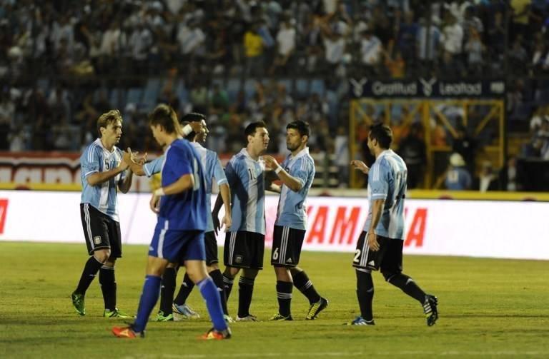 Argentina derrotó a Guatemala en el Doroteo Guamuch Flores