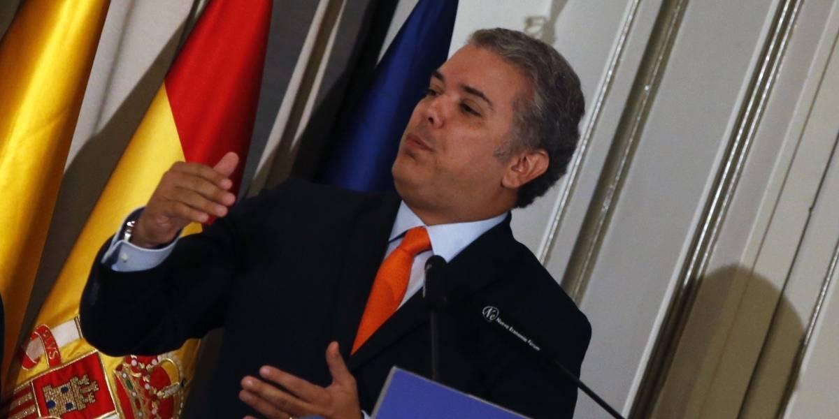 Iván Duque dice que elegirá a su gabinete la otra semana