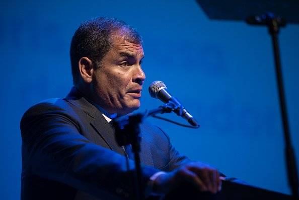Fiscalía cita a Rafael Correa el jueves 12 de julio por el caso Balda Getty Images