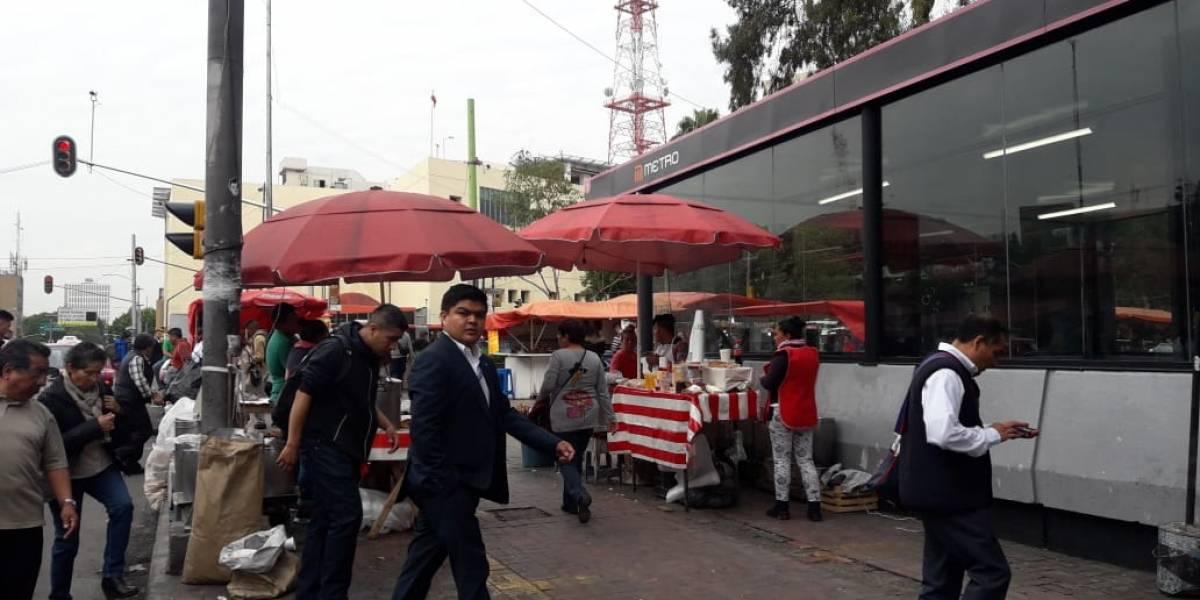 Metro podrá retirar ambulantes dentro y fuera de sus instalaciones