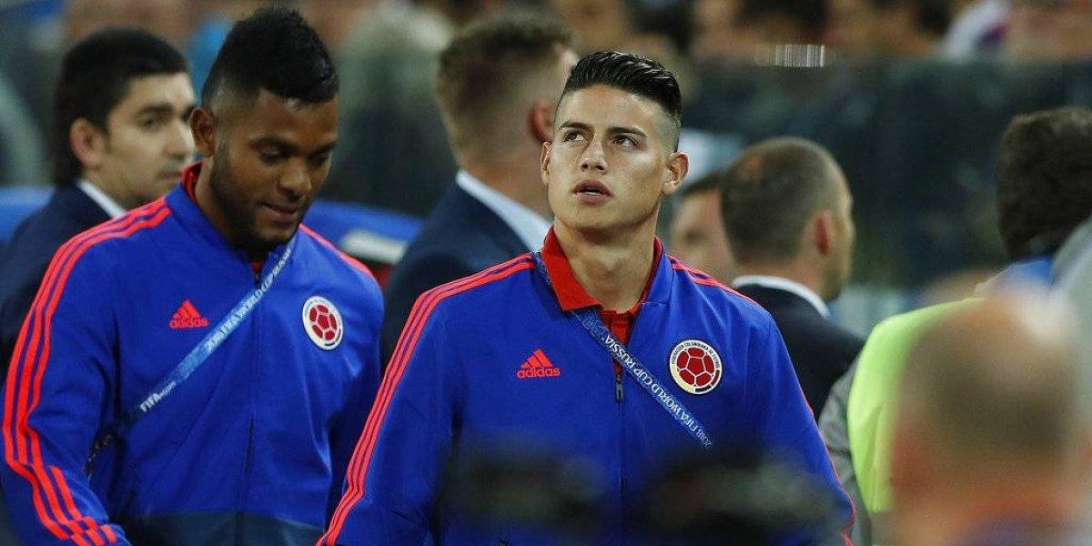 La mentira que rondó a la lesión de James Rodríguez en la previa de los octavos de Rusia 2018