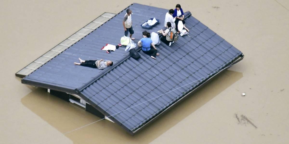 Las catastróficas imágenes tras las peores inundaciones de Japón que dejaron más de cien muertos