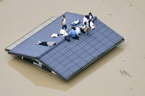 inundaciones Japón
