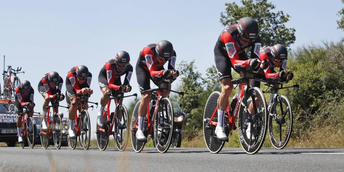 BMC da el golpe y se impone al Team Sky en la contrarreloj por equipos del Tour de Francia