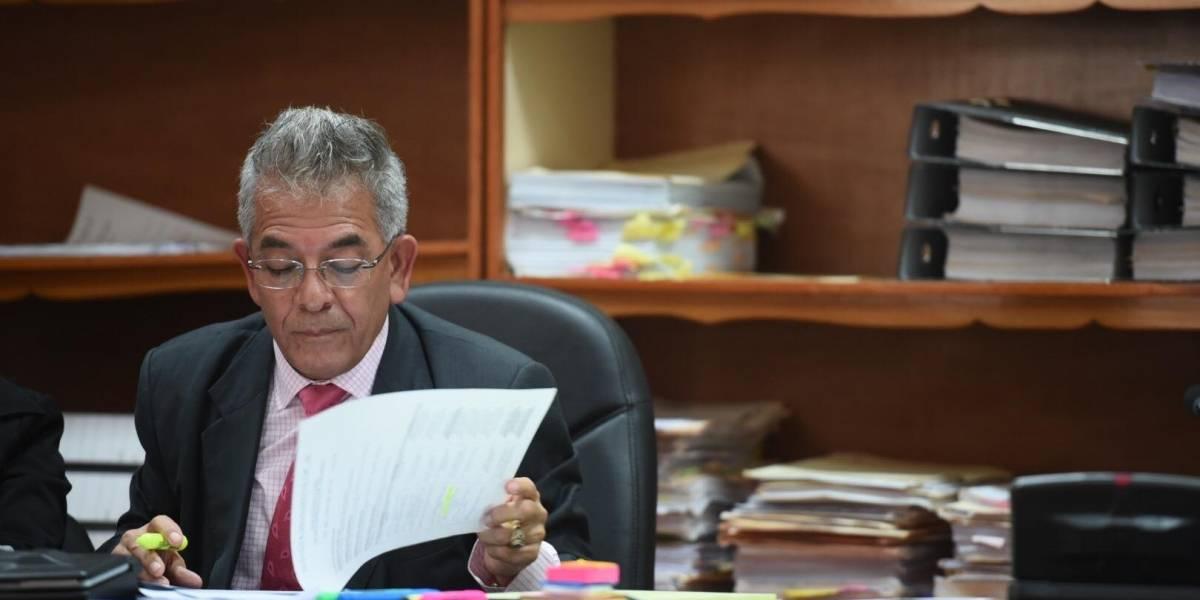 Juez Miguel Gálvez emplaza a Fiscal General por cambio de fiscales