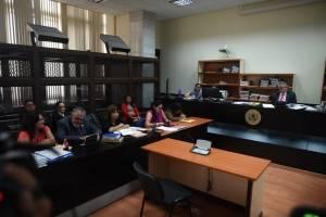 audiencia de ofrecimiento de pruebas caso La Línea