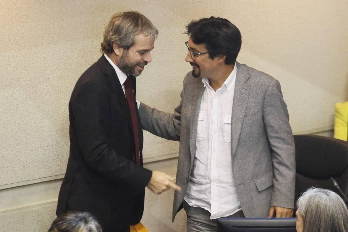 Gonzalo Blumel y Juan Carlos Latorre