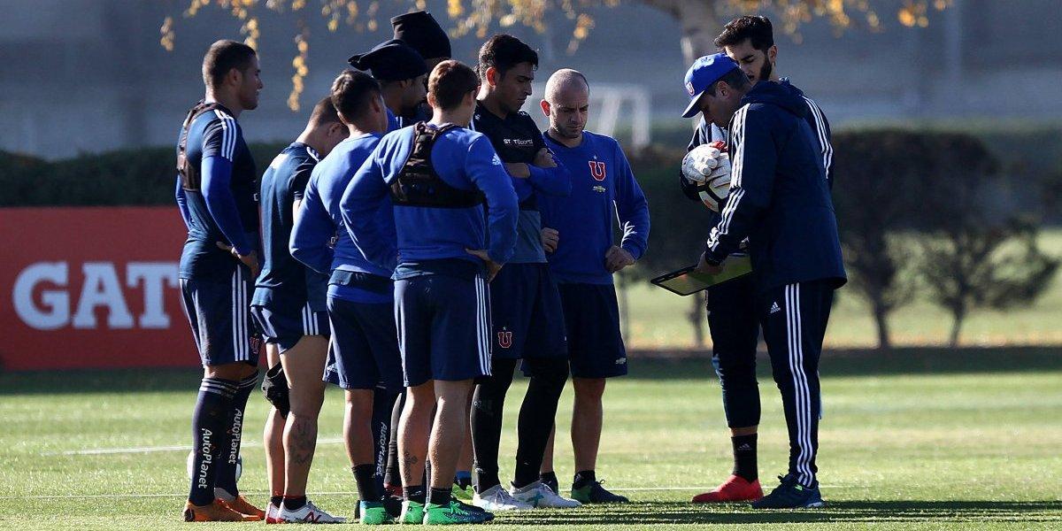 Frank Darío Kudelka se aprovecha de la buena racha para definir su equipo ideal en la U