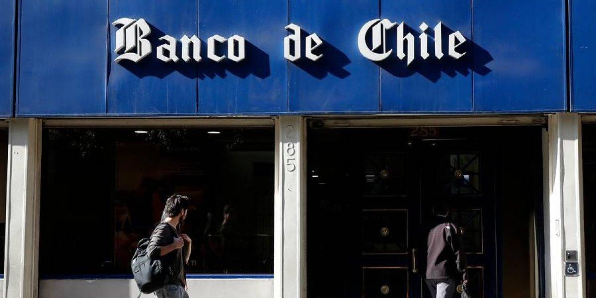 Otra vez: usuarios denuncian que página web de Banco de Chile nuevamente presenta problemas