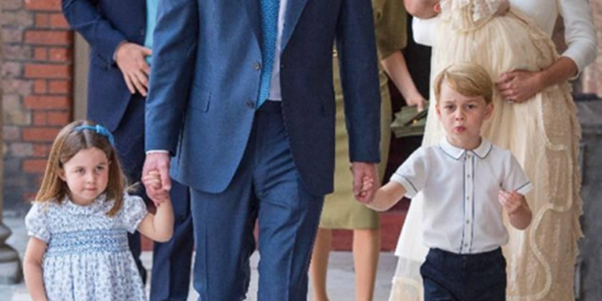 La mala cara de Harry durante el bautizo de su sobrino Louis ¿estaba incómodo?