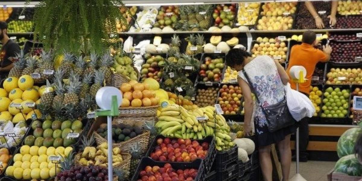 INE reporta disminución en el costo de la canasta básica alimentaria