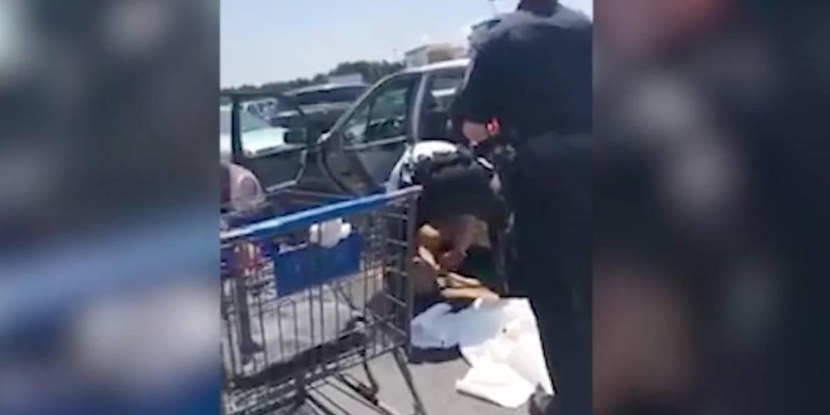 """""""Hicimos lo posible, pero no lo logramos"""": rescatistas devastados tras rescate de perrito que fue dejado por su dueña encerrado en un auto"""