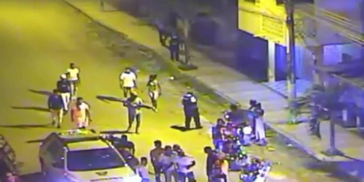 Cámaras del ECU 911 permitieron la captura de presuntos antisociales en Esmeraldas y Tulcán