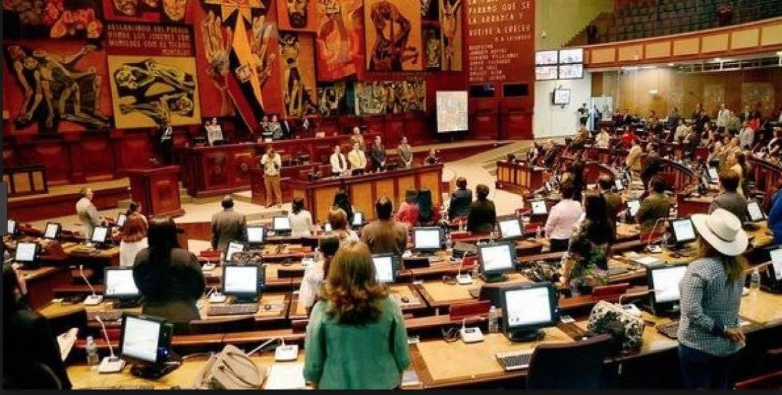 Se redistribuyó el grupo de Alianza País en el pleno de la Asamblea API