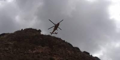 Una persona fallecida por caída en barranco, en el cerro Casitagua, noroccidente de Quito