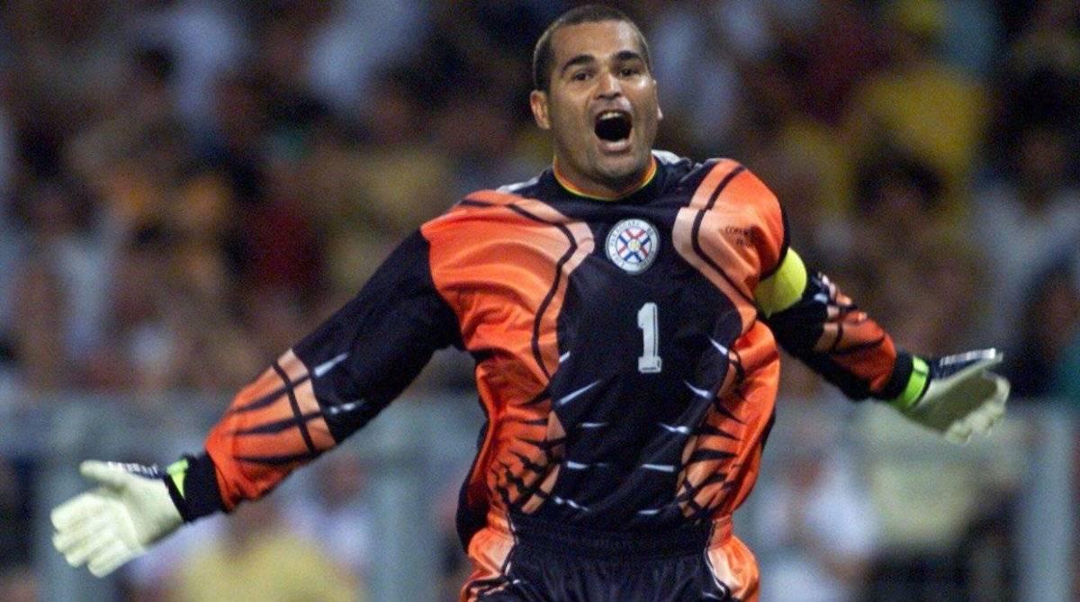 Chilavert jugó dos mundiales con Paraguay.