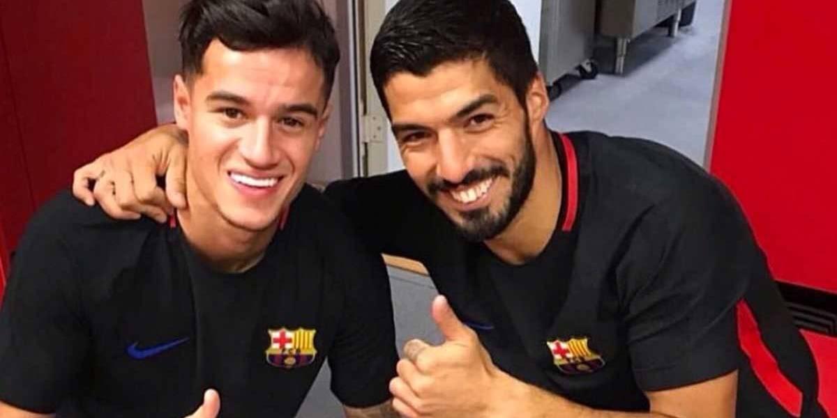 PSG quer tirar Suárez e Coutinho do Barcelona