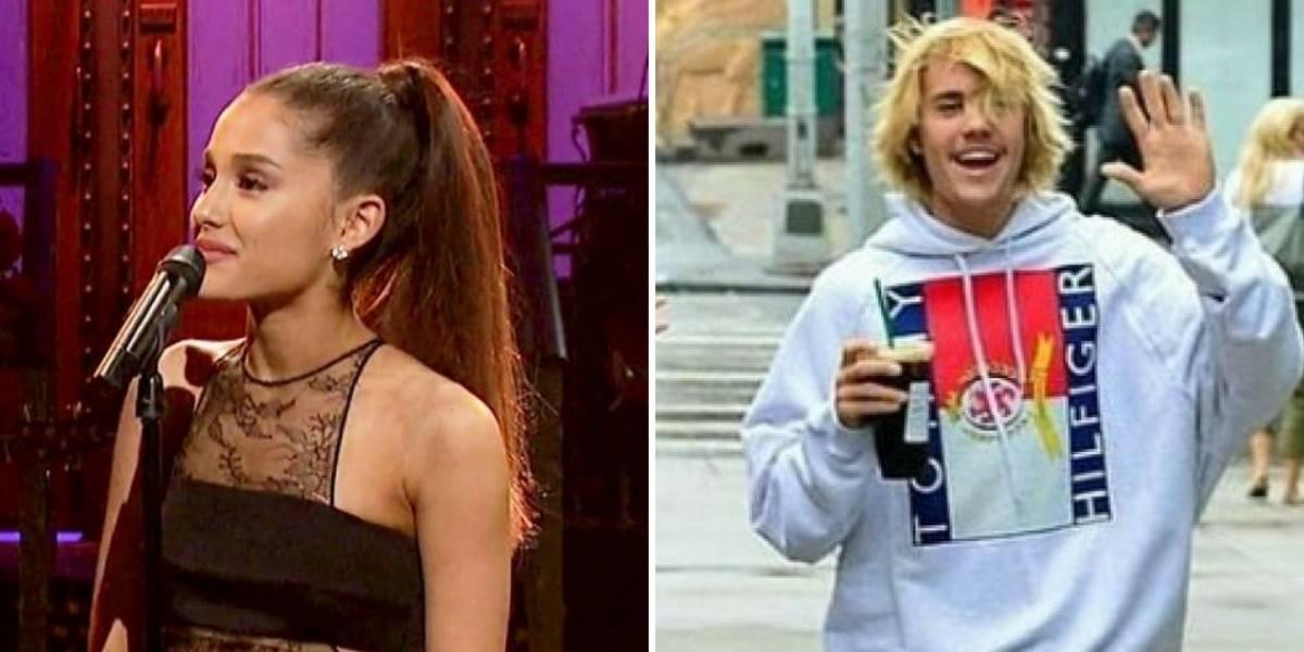Treta: Ariana Grande sai em defesa do noivado de Justin Bieber