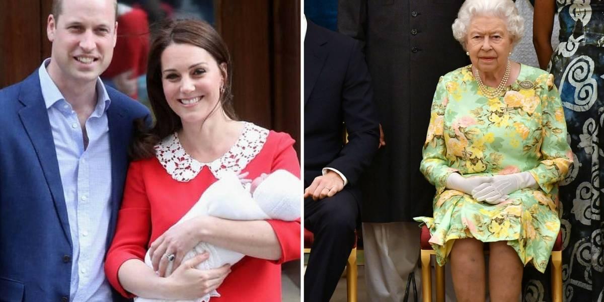 Rainha Elizabeth II e Philip não vão ao batizado de príncipe Louis