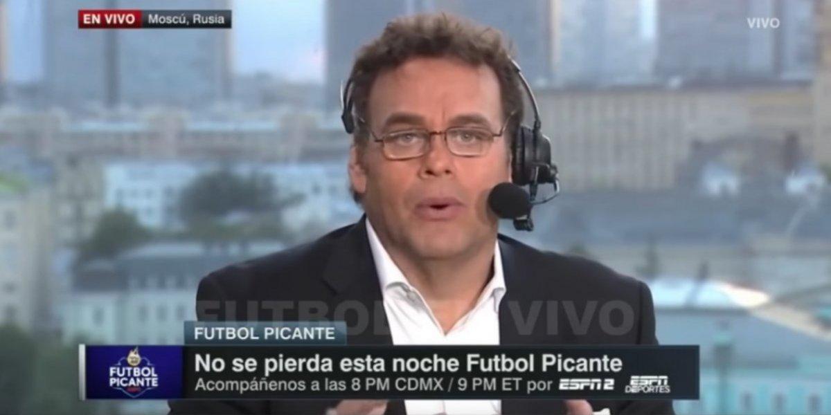 Faitelson sugiere que en el futbol mexicano se piden favores sexuales para debutar