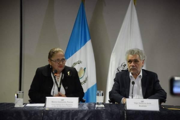 Fiscal general y Edgar Gutiérrez