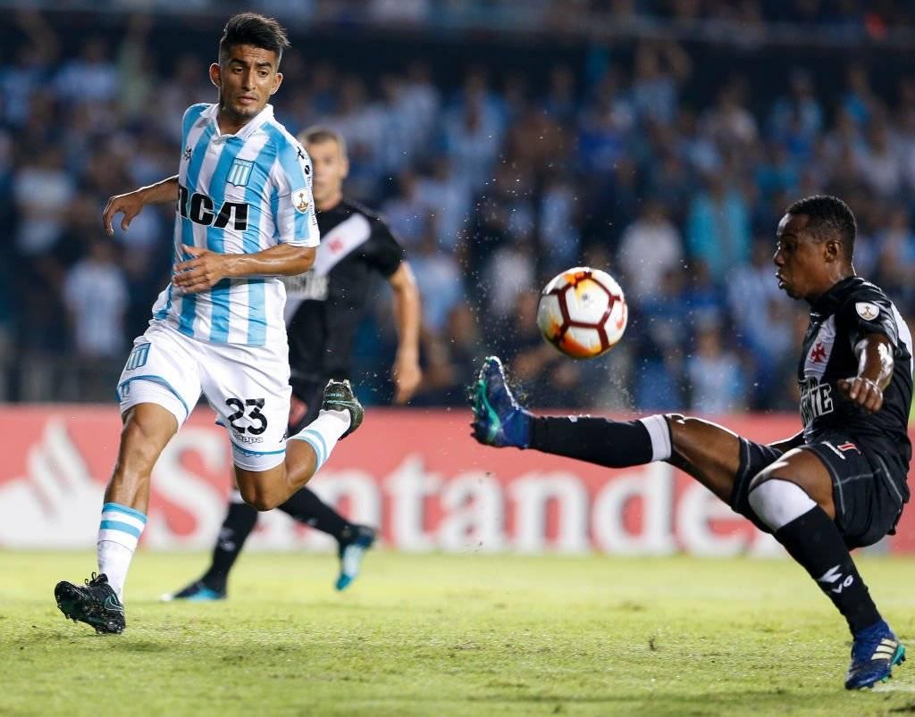 Alexis Soto será el rival por la titularidad que tendrá Eugenio Mena en Racing / Foto: Getty Images