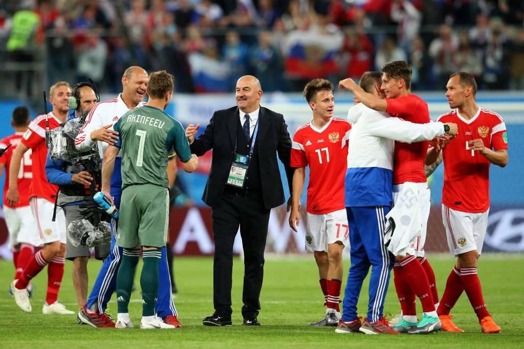 Rusia llegó a cuartos de final en su Mundial. Quedó eliminada ante Croacia / Foto: Getty Images