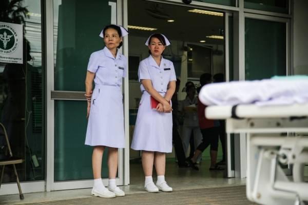enfermeras Tailandia