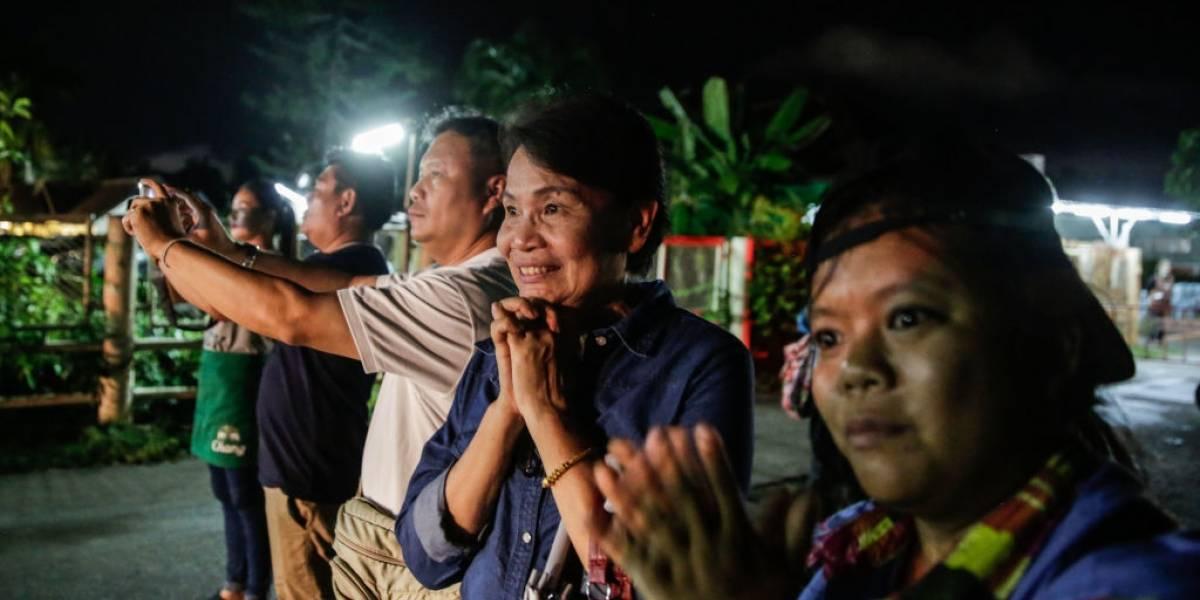 Rescate en cuevas tailandesas: octavo niño liberado mientras sigue la misión para salvar al resto